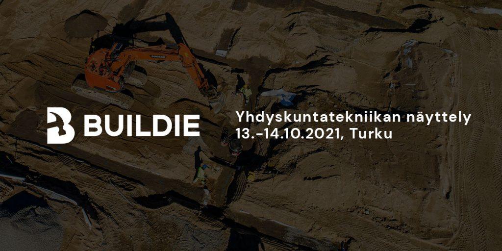 Buildie Yhdyskuntatekniikka-näyttelyssä